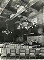 W.H. Gispen. Siersmeedwerk. Lampen in de Statenzaal van het Provinciehuis te Arnhem. Fotograaf onbekend. Collectie NAi, GISP 684 (6633740029).jpg