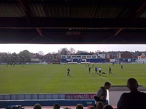 Wakefield F.C. - Belle Vue, Arthur Street side
