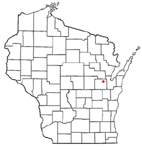 Location of Seymour, Wisconsin