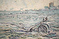 WLANL - arts of akki - Ondergesneeuwd veld met een eg, Vincent van Gogh (naar Millet), 1888 detail.jpg