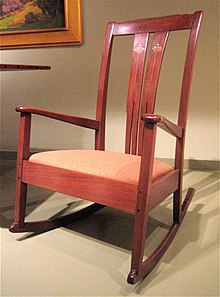 Rocking Chair for Writing Stories