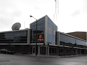 WSBT-TV - WSBT's former studio in South Bend, now the home of WNIT.