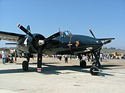 WWll very rare restored - WWll 1945 fighter-Grumman F7F-3P Tigercat NX909TC BuNo-80425 pic ^6 Camarillo Airfield 8.17.08 - panoramio.jpg
