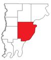 Wabash County, IL - MtCarmel Precinct.png