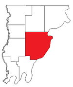Location of Mount Carmel Precinct in Wabash County