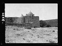 Wady Sha'ib Es-Salt, Amman, etc. Neby Osha. Tomb of 'Hosea.' Ext(erior). view of the willy (i.e., weli) LOC matpc.15296.jpg