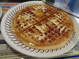 Waffle House - Waffle from the Waffle House