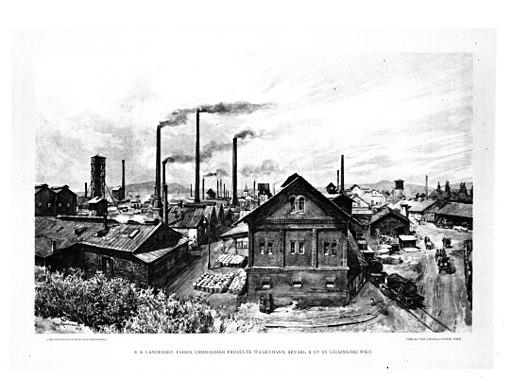 Wagenmann & Seybel Werksgelände 1898