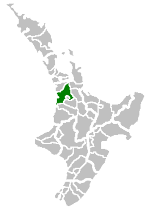 Waikato District - Image: Waikato Territorial Authority