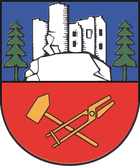 Coat of arms of the city of Steinbach-Hallenberg