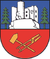 The coat of arms of the city of Steinbach-Hallenberg