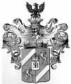 Wappen der Freiherren von Amadey 1760.png