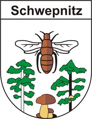 Schwepnitz - Image: Wappen schwepnitz