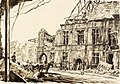 War Drawings by Muirhead Bone- the Town Hall, Peronne Art.IWMREPRO00068421.jpg