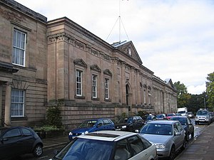 Shire Hall, Warwick - Shire Hall and County Court building