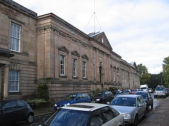 Sanderson Miller - Image: Warwick Shire Hall and County Court building