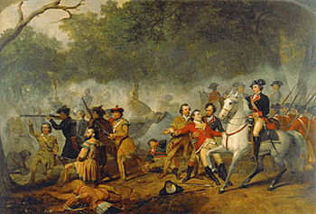 English: George Washington during the French a...