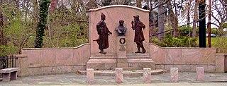 Washington Irving Memorial Memorial in Irvington, New York, United States