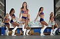 Washington Redskins cheerleaders on USS Harry S. Truman.jpg