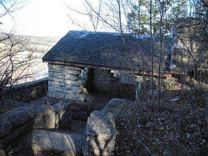 National Register of Historic Places listings in Washington County, Missouri - Image: Washington State Park overlook 36