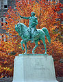 Washington Statue in Fall from PAO.jpg
