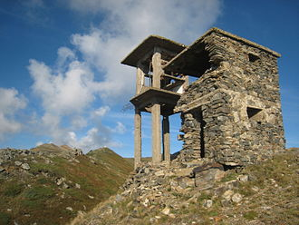Belasica - Image: Watchtower close to the Belasitsa ridge