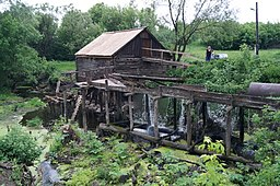 Water mill in Krasnikovo, Pristen District, Kurskaya oblast, Russia.JPG