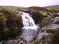 Waterfall ,Stakely Beck - geograph.org.uk - 430753.jpg