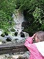 Waterfall on Aros burn - geograph.org.uk - 634319.jpg