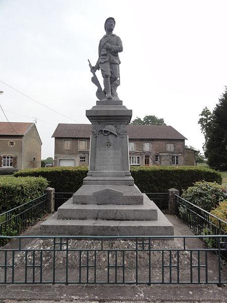 Watronville (Meuse) monument aux morts