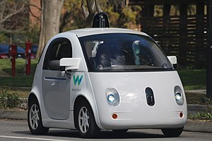 Waymo - A Waymo self-driving car