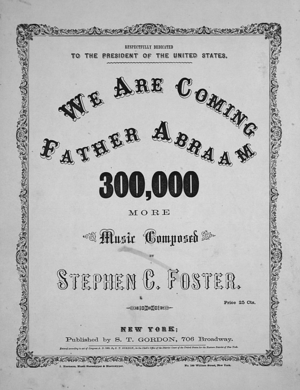 We Are Coming, Father Abra'am - Image: We Are Coming, Father Abra'am (S.C. Foster)