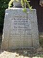 Wegkreuz Halter, Biberach (Baden) Inschrift DSCN2094.jpg