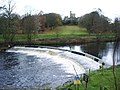 Weir on the River Wenning at Hornby - geograph.org.uk - 611935.jpg
