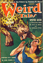 Weird Tales cover image for January 1940
