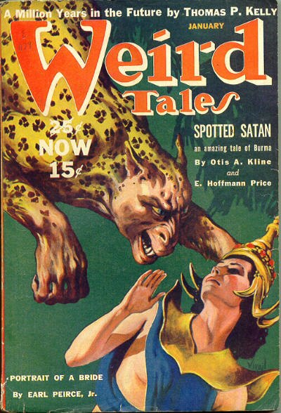 Weird Tales January 1940