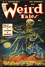 Weird Tales cover image for May 1948