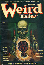 Weird Tales cover image for November 1945