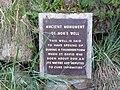 Well sign near St Nons Chapel.jpg