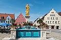Wemding, Marktplatz, Marktbrunnen 20170830 001.jpg