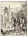 Wenceslas Hollar - Evander and Aeneas at Palentium (State 1).jpg