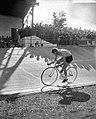 Wereldkampioenschappen wielrennen te Luik. Achtervolging Ab Geldermans, Bestanddeelnr 908-8528.jpg