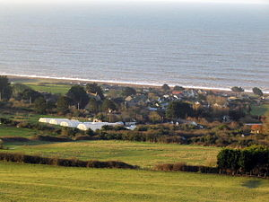 West Bexington - Image: West Bexington from inland geograph.org.uk 351842