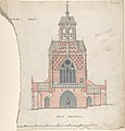 West Elevation of an Unidentified Church MET DP804091.jpg
