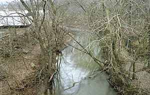 Duck Creek (Ohio) - The West Fork of Duck Creek at Caldwell