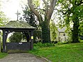 West Leake Lych gate and Church - geograph.org.uk - 1298775.jpg