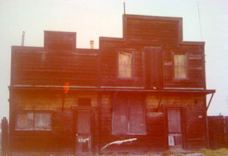 Castroville, California - The last standing building in Chinatown.  The Saloon