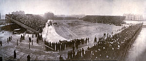 1905 college football season - Image: Western Championship Chicago Michigan, November 1905