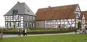 "Detmold Open-air Museum - ""Paderborn village"" in the museum, rectory and restaurant ""Im Weißen Ross"""