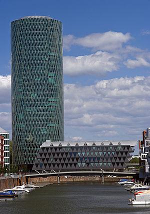 Westhafen Tower - Westhafen Tower in 2009